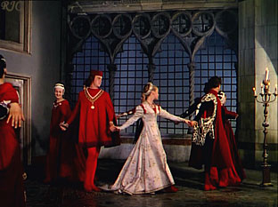 Ballroom scene in the Castellani's  Romeo and Juliet , 1954  -  сцена бала в фильме Кастеллани